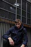 """Куртка мужская синяя черная Softshell демисезонная """"Citizen"""" Intruder осенняя весенняя на флисе+Ключница, фото 10"""