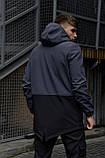 """Куртка мужская серая черная Softshell демисезонная """"Citizen"""" Intruder осенняя весенняя на флисе+Ключница, фото 4"""