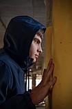 Куртка анорак чоловіча осіння синя Softshell Walkman демісезонна весняна Intruder+Ключниця в подарунок, фото 6
