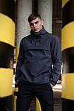 Куртка анорак мужская осенняя серая Softshell Walkman демисезонная весенняя Intruder+Ключница в подарок, фото 2