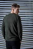 Мужской свитшот флисовый хаки Intruder, фото 10