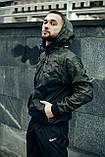 Анорак Nike President Чоловічий Чорний найк вітровка, фото 3