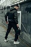Анорак Nike President Чоловічий Чорний найк вітровка, фото 7