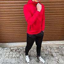 "Кофта мужская Pobedov ""Green"" красного цвета, фото 3"