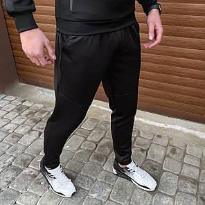 """Мужские спортивные штаны Pobedov """"Green"""" черного цвета, фото 2"""