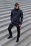 Куртка Softshell V2.0 чоловіча сіра демісезонна Intruder + Ключниця в подарунок, фото 2