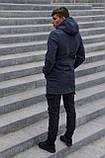 Куртка Softshell V2.0 чоловіча сіра демісезонна Intruder + Ключниця в подарунок, фото 3