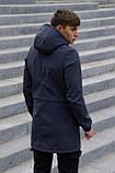 Куртка Softshell V2.0 чоловіча сіра демісезонна Intruder + Ключниця в подарунок, фото 4