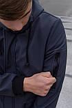 Куртка Softshell V2.0 чоловіча сіра демісезонна Intruder + Ключниця в подарунок, фото 8