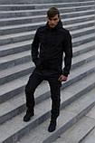 Куртка Softshell V2.0 чоловіча чорна демісезонна Intruder. + Ключниця в подарунок, фото 2