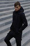 Куртка Softshell V2.0 чоловіча чорна демісезонна Intruder. + Ключниця в подарунок, фото 3