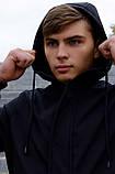 Куртка Softshell V2.0 чоловіча чорна демісезонна Intruder. + Ключниця в подарунок, фото 7