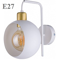 Светильник настенный Е27 на 1 лампу 2740 (бра) белый