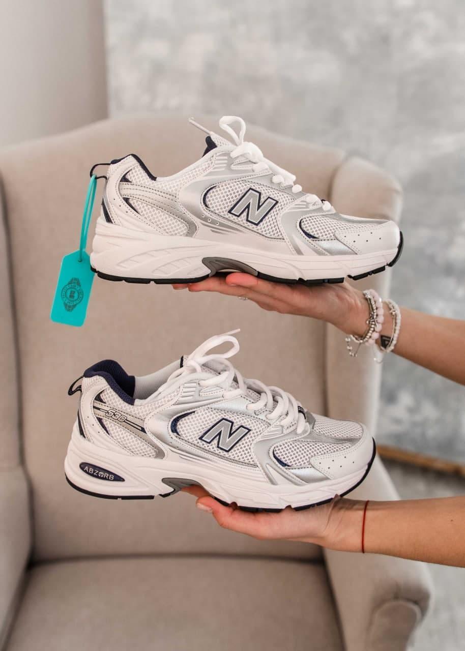 Кросівки New Balance MR 530 SG жіночі, чоловічі, білі