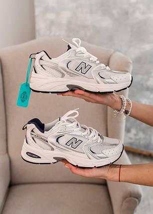 Кросівки New Balance MR 530 SG жіночі, чоловічі, білі, фото 2