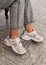 Кросівки New Balance MR 530 SG жіночі, чоловічі, білі, фото 3