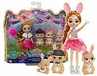 """Игровой набор Энчантималс роял """"Семья кролика Бристал"""" Enchantimals Royals Mattel GYJ08"""