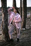 Сорочка жіноча 'Shon' Oversize еко-хутро баранчика весняна   осіння   річна від Intruder рожева, фото 10