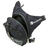 Стегновий мотосумки Suzuki, фото 4