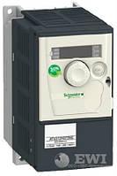 Частотный преобразователь Schneider Electric (Шнайдер) Altivar 312 ATV312H075M2 0,75 кВт 220 В