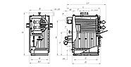 Твердопаливний котел Kalvis До-1250, фото 3