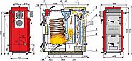 Твердотопливный котел Kalvis К-2-16, фото 2