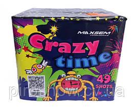 Салют Crazy time 49 выстрелов 20 калибр | Фейерверк Maxsem M0881