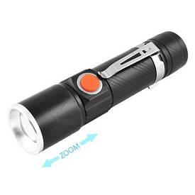 Тактический фонарь фонарик POLICE BL-616-T6 158000W Зарядка от USB