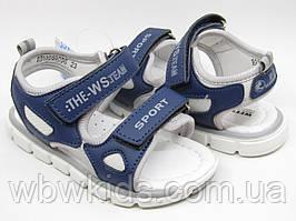 Босоножки детские Weestep R913550096 SB на мальчика синие