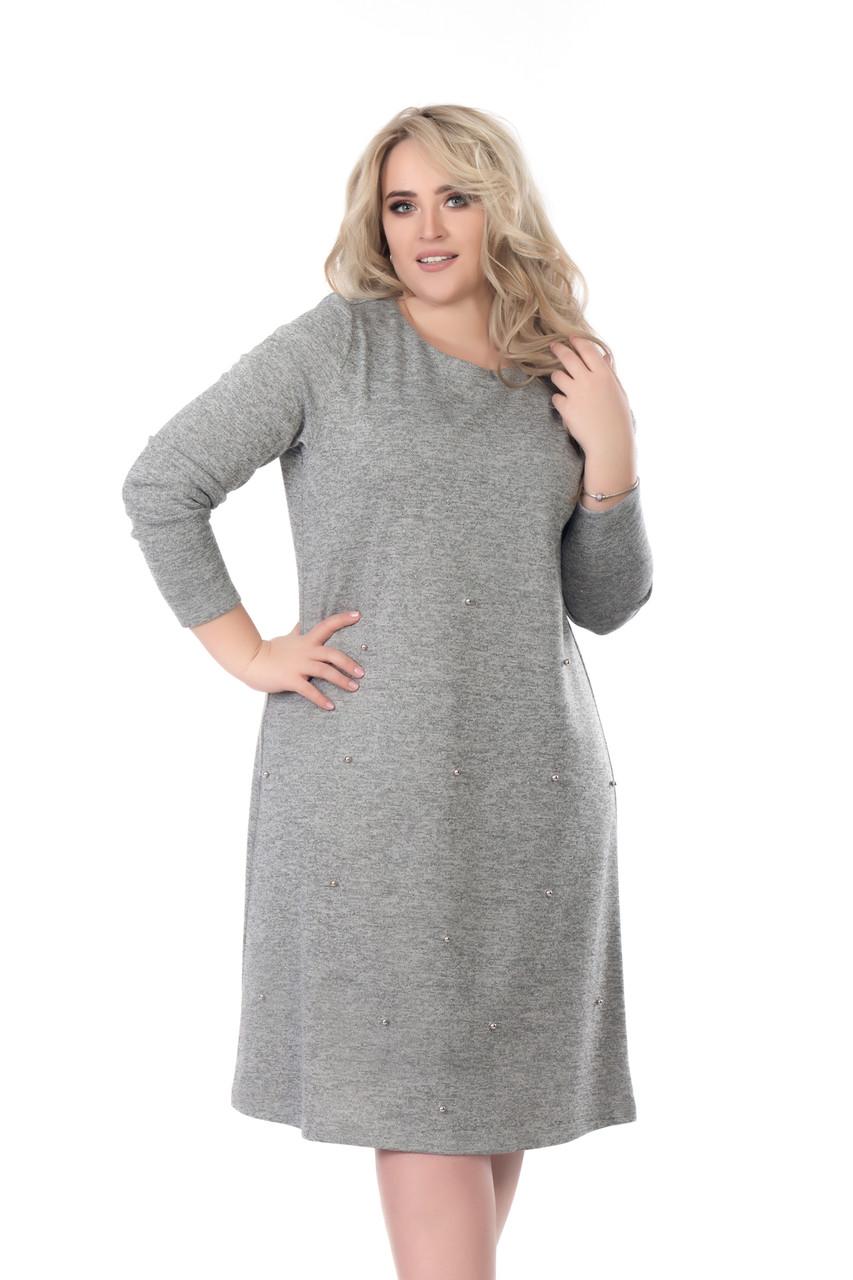 Сукня Tasa 1195 50 Сіре