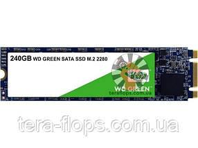SSD M.2 накопитель WD Green 240 GB M.2 (WDS240G2G0B) Б/У