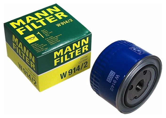 Масляный фильтр MANN W914/2 (ВАЗ 2108 - 2115, 2170-2172, 1118, 2110)
