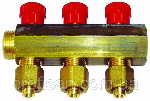 Колектор 3/4х16 4-ий з перекриванням APE ITALY 7884 L