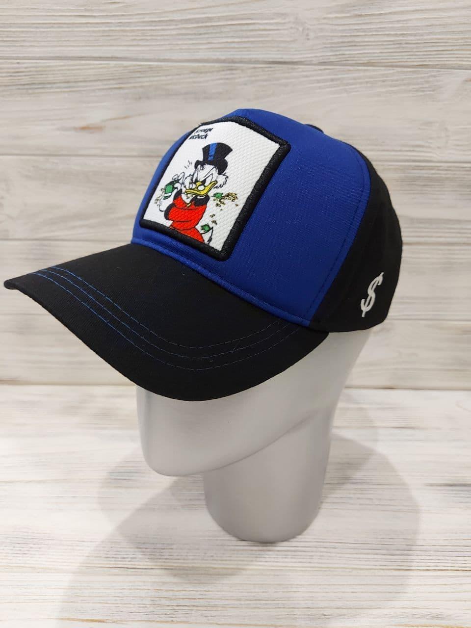 Трендовая бейсболка - тракер из коттона с шевроном isqrld Duck спереди 12sl346