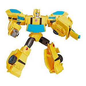 Робот-трансформер Hasbro, Бамблби Кибервселенная, 30 см - Transformers Cyberverse, Ultra Bumblebee