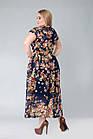 Платье Tasa 1166 50 Синее, фото 2