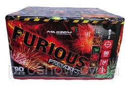 Салют Furious 90 выстрелов 20 калибр | Фейерверк MC135 Maxsem