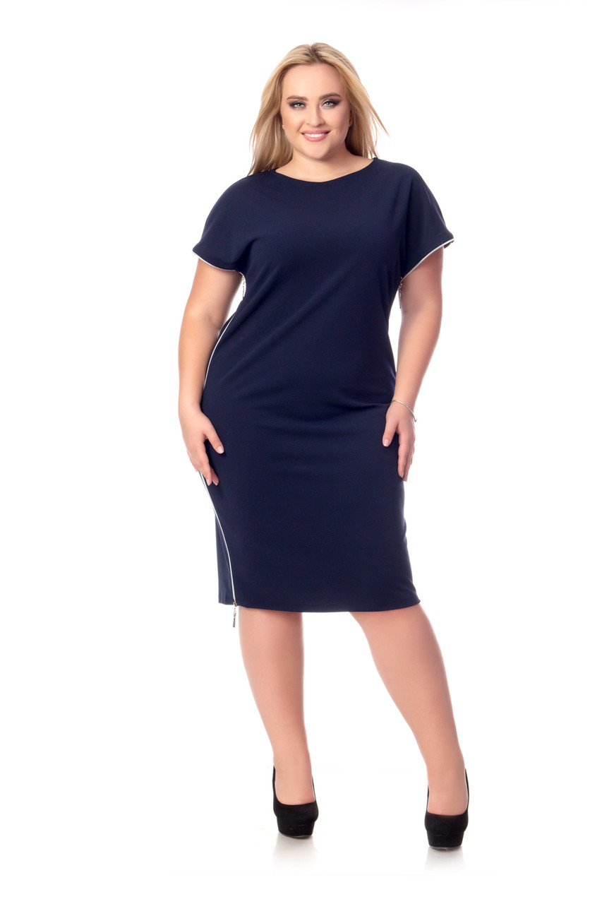 Сукня Tasa 1188 52 Синє
