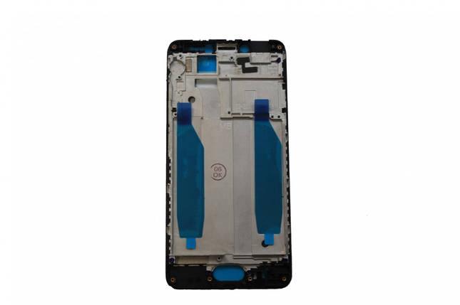 Рамка дисплея Meizu M5c черная, фото 2