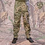 Камуфляжні штани MМ-14 пояс с резинкою і під ремінь, фото 5