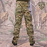 Камуфляжні штани MМ-14 пояс с резинкою і під ремінь, фото 6