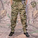 Камуфляжні штани MМ-14 пояс с резинкою і під ремінь, фото 3