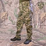 Камуфляжні штани MМ-14 пояс с резинкою і під ремінь, фото 2