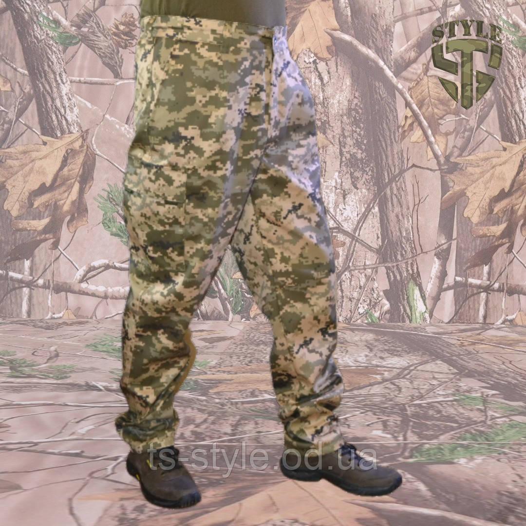 Камуфляжні штани MМ-14 пояс с резинкою і під ремінь
