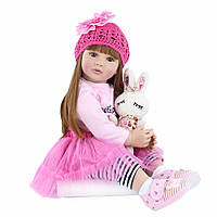 Кукла реборн 62 см девочка Альбина