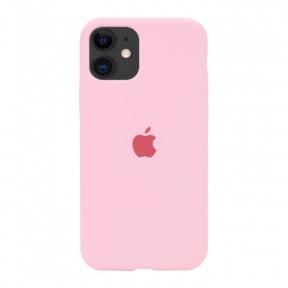 Чехол силиконовый Silicone Case для Apple iPhone 12, iPhone 12 Pro Pink