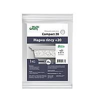 Пластификатор для увеличения прочности гипса Compact 20, 1 кг