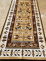 Двостороння доріжка ткана з орнаментом 200*80 см