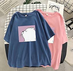 Жіночі мимишные футболки Ведмедики універсал