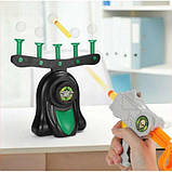 Іграшка Hover Shot Стрільба по ширяючим кулькам | Літаючі мішені стрілянина, фото 3
